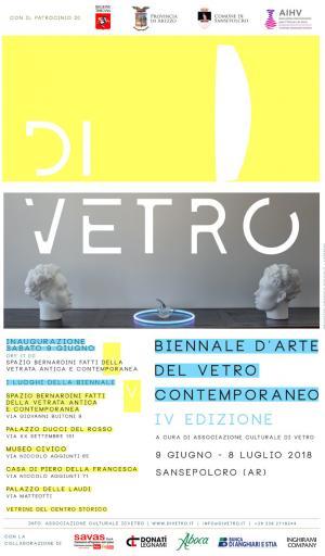 DIVETRO 2018 -  BIENNALE D'ARTE DEL VETRO CONTEMPORANEO